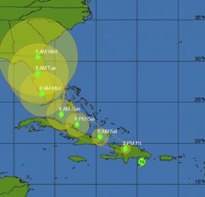 hurricane in florida