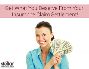get what you deserve from your insurance claim settlement